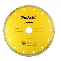 Disco De Diamante 180 Mm Turbo Seco Y Humedo. Makita A84165 1 A84165 MAKITA ACCESORIOS