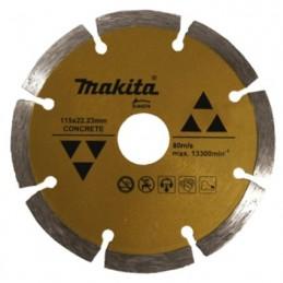 """Disco De Diamante Segmentado 4 1/2"""" Para Concreto Makita D44270 D44270 MAKITA ACCESORIOS"""