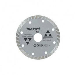 """Disco De Diamante Turbo 9"""" Para Granito Y Marmol Especial Makita D44323 D44323 MAKITA ACCESORIOS"""