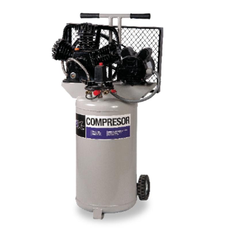Compresor De Banda Vertical 75 Lts 3Hp 220V 115Psi Motor Siemens CEN-AXT-COMV75M AXTECH