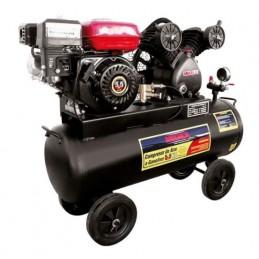 Compresor De Aire 5.5 Hp Motor A Gasolina (60 Lts) MIKELS CG-5.5HP MIK-CG-5.5HP MIKELS