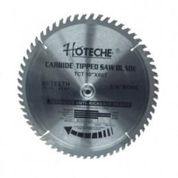 """Disco Sierra Circular Dientes Carburo 10"""" X 60 Hoteche 10X60T HP10X60T HOTECHE"""