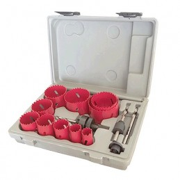 Brocas Sierra Bi-Metal 14 Piezas Hoteche 80021408 HP80021408 HOTECHE