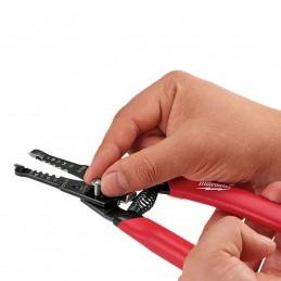 Pinza Pelacables/Cortador Para Cable Solido Y Trenzado AMIL48226109 MILWAUKEE ACCESORIOS
