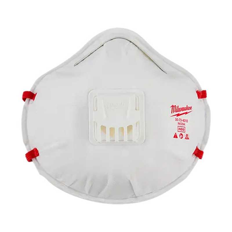 Cubre Bocas Desechable N95 Con Respirador AMIL48734011 MILWAUKEE ACCESORIOS