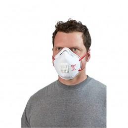 Cubre Bocas Desechable N95 Con Respirador 10Pzas AMIL48734014 MILWAUKEE ACCESORIOS