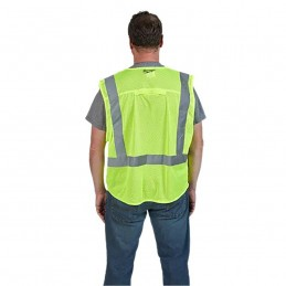 Chaleco De Seguridad Alta Visibiidad Amarillo G/Xg AMIL48735022 MILWAUKEE ACCESORIOS