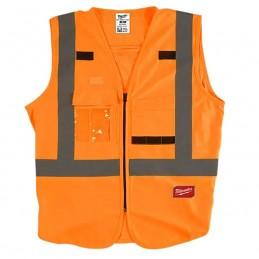 Chaleco De Seguridad Alta Visibiidad Naranja G/Xg AMIL48735032 MILWAUKEE ACCESORIOS