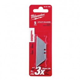 Repuesto De Navajas Uso General 5 Piezas Milwaukee 48221905 AMIL48221905 MILWAUKEE ACCESORIOS