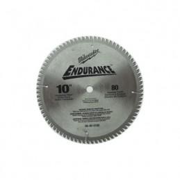 "Sierra Circular 10"" X 80 Dientes Milwaukee 48404168 AMIL48404168 MILWAUKEE REFACCIONES"
