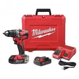 "Taladro 1/2"" Milwaukee 2801-22CT 18V 0-500-0-1800 Rpm MIL2801-22CT MILWAUKEE"