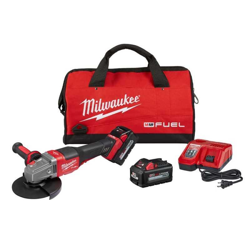 Esmeril Angular Milwaukee 2980-20 (4-1/2 -6) M18 MIL2980-22 MILWAUKEE
