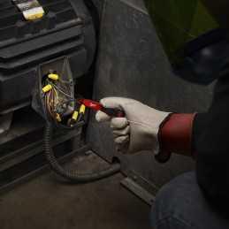 Detector De Voltaje Con Led 50 A 1,000 Volts Ac Milwaukee 2202-20 MIL2202-20 MILWAUKEE