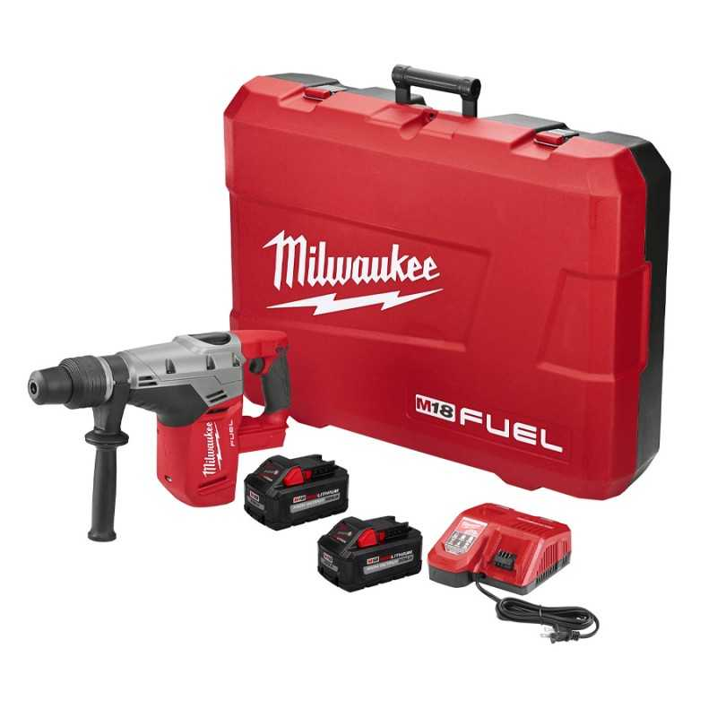 "Rotomartillo 1-9/16"" Doble Empuñadura M18 Fuel Kit MIL2717-22HD MILWAUKEE"