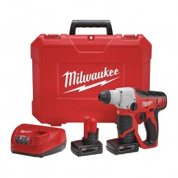 "Rotomartillo Sds Plus De 1/2"" M12 Kit MIL2412-22XC MILWAUKEE"
