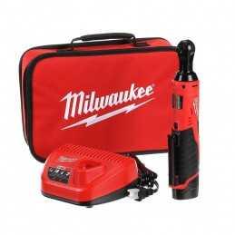 "Matraca Inalambrica 3/8"" 12 Volts 0-250 Rpm Milwaukee 2457-21 MIL2457-21 MILWAUKEE"