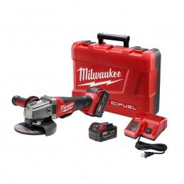 "Esmeriladora De 4-1/2"" / 5"" M18 Fuel Kit MIL2780-22 MILWAUKEE"