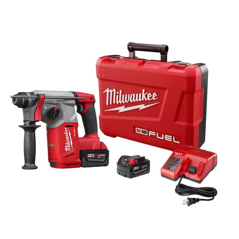 "Rotomartillo Sds Plus De 1"" M18 Fuel Kit Milwaukee 2712-22 MIL2712-22 MILWAUKEE"