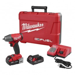 "Llave De Impacto 3/8"" 18 Volts 0-2,500 Rpm 0-3,200 Ipm Milwaukee 2754-22CT MIL2754-22CT MILWAUKEE"