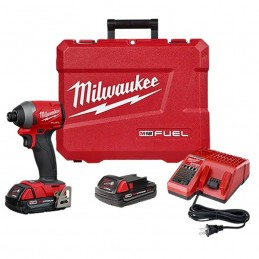 "Llave De Impacto 1/4"" 18 Volts 0-3,600 Rpm 0-4,300 Ipm Milwaukee 2853-22CT MIL2853-22CT MILWAUKEE"
