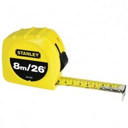 Flexómetro 8 Metros Global Plus Stanley 30626 STN30626 STANLEY