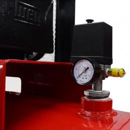 Compresor De Banda 10 Hp 500 Lts 220-440V 175Lbs Bifasico CALC500HT10BKIT CALIFORNIA AIR