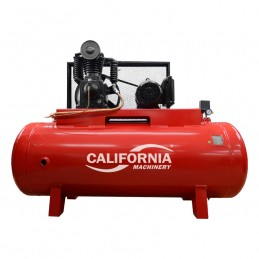 Compresor De Banda 5 Hp 500 Litros Bifasico California Machinery CALC500HT5BGKIT CALC500HT5BGKIT CALIFORNIA AIR