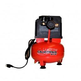 Compresor 1/3 hp 6 litros 110V libre de aceite california machinery CALEZWA10A CALIFORNIA AIR