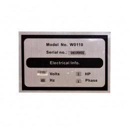 """Canteadora 6"""" 1 Hp 3 Navajas 1 Fase 110 Volts Banco Abierto California Machinery CALM0110W CALM0110W CALIFORNIA WOOD"""