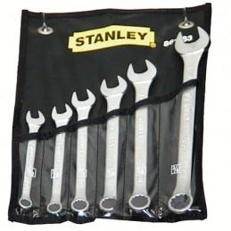 """Llaves Combinadas 6 Piezas 3/8"""",7/16"""",1/2"""",9/16"""",5/8"""",11/16"""" Stanley 86083 STN86083 STANLEY"""