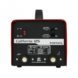 Soldadora De Electrodo Revestido 125 Amp Revestido 110 Volts California Machinery CALMUN125CA CALMUN125CA CALIFORNIA MACHINERY