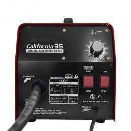 Soldadora De Microalambre 100 Amp California Machinery CALMUN35 CALMUN35 CALIFORNIA MACHINERY