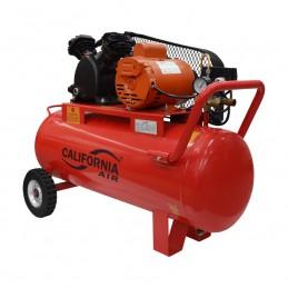 Compresor De Banda 1 Hp 70 Litros 127 Volts 60 Hz 115 Psi California Machinery CALQBM-TB10-70L CALQBM-TB10-70L CALIFORNIA AIR