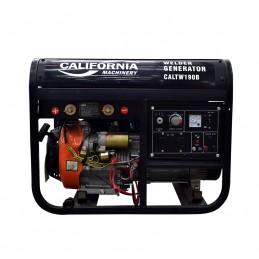 Generador Soldadora 190 A 5,000 W 110V Encendido Electronico CALTW190B CALTW190B CALIFORNIA CONSTRUCTION