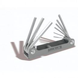 Llaves Hexagonales Allen® Estándar, Tipo Navaja (9 Pzas) MIKELS JAN-9S MIK-JAN-9S MIKELS