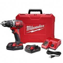 "Taladro Destornillador 1/2"" 18 Volts 0-400 - 0-1,800 Rpm Milwaukee 2606-22CT MIL2606-22CT MILWAUKEE"