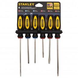 Desarmadores Phillips Y Std 6 Piezas Stanley 60060 STN60060 STANLEY