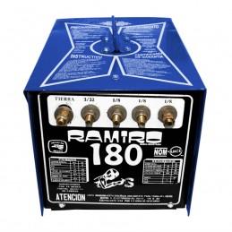 Soldadora De Electrodo 180 Amperes Compacta Ramiro Rar001 RAR001 RAMIRO