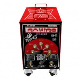 Soldadora De Electrodo 180 Amperes Con Rodajas Ramiro Ram180R RAM180R RAMIRO