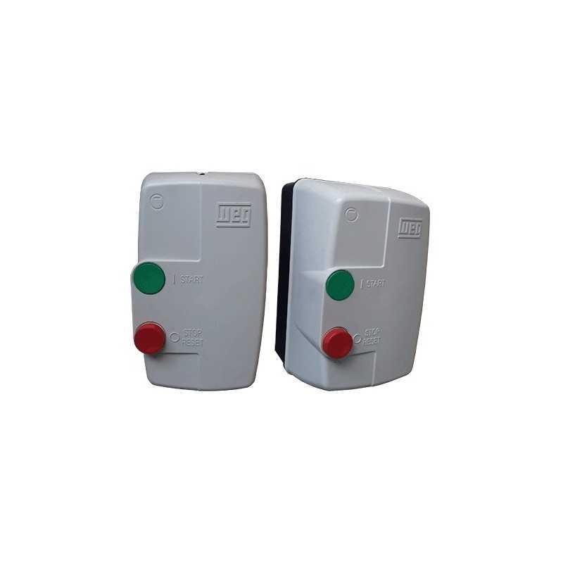 Arrancador 5 Hp 220 V Termoplastica DlW 60 Hz 11-17 amp WEG WEG-10046370 WEG-10046370 MOTORES WEG