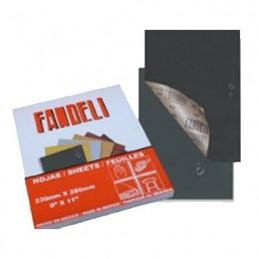 """Lija Agua Grado 120 Línea C-99 9""""X 11"""" FANDELI FND00053-1 FND00053-1 FANDELI"""