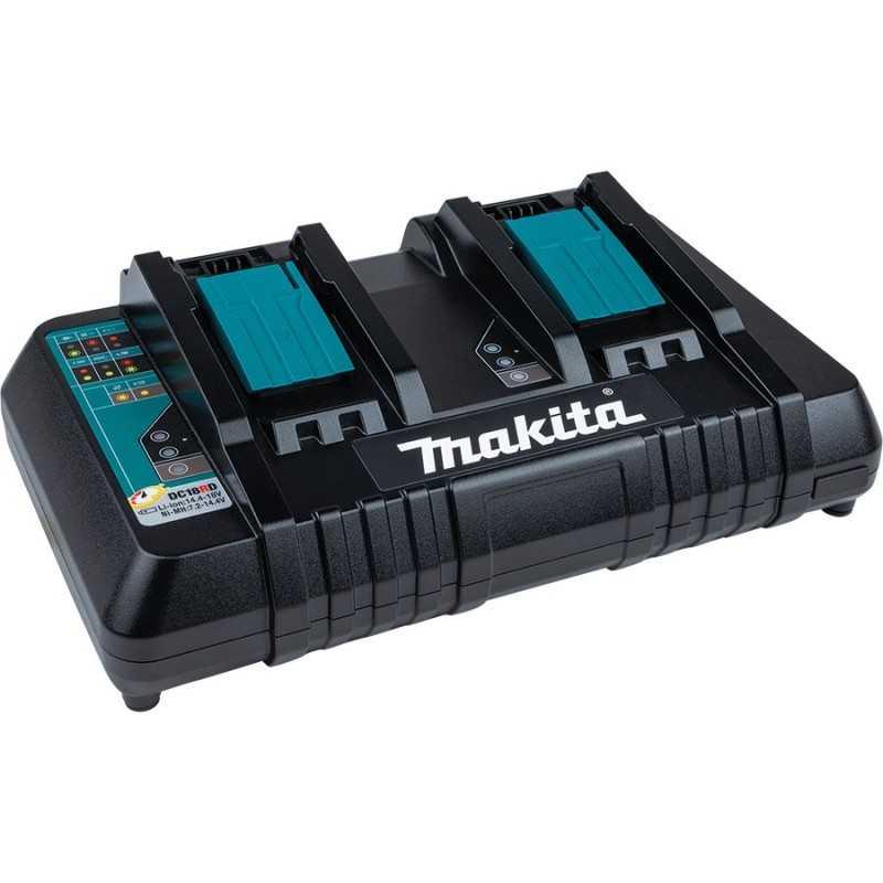 Cargador (0.5 h, 0.75 h, 2.25 kg, Negro, Azul, Ca MAKITA ACCESORIOS DC18RD DC18RD MAKITA ACCESORIOS
