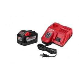 Cargador De Bateria Kit M18 9.0 Ah MILWAUKEE ACCESORIOS AMIL48591890 AMIL48591890 MILWAUKEE ACCESORIOS