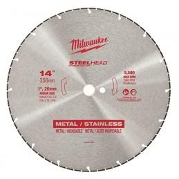 "Disco Abrasivo 14"" Steelhead Para Corte En Metal MILWAUKEE ACCESORIOS AMIL49937840 AMIL49937840 MILWAUKEE ACCESORIOS"