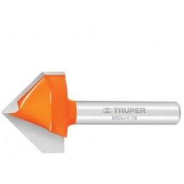 Broca para router, corte en 'V', 3/8' TRUPER TRUP-11465 TRUP-11465 TRUPER