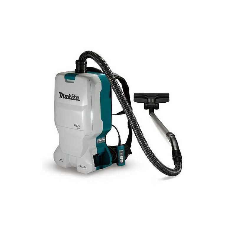 Aspiradora de mochila flujo de aire 2.2m³ /min, 3 vel m/BL li-ion MAKITA MAKDVC660Z MAKDVC660Z MAKITA HERRAMIENTAS
