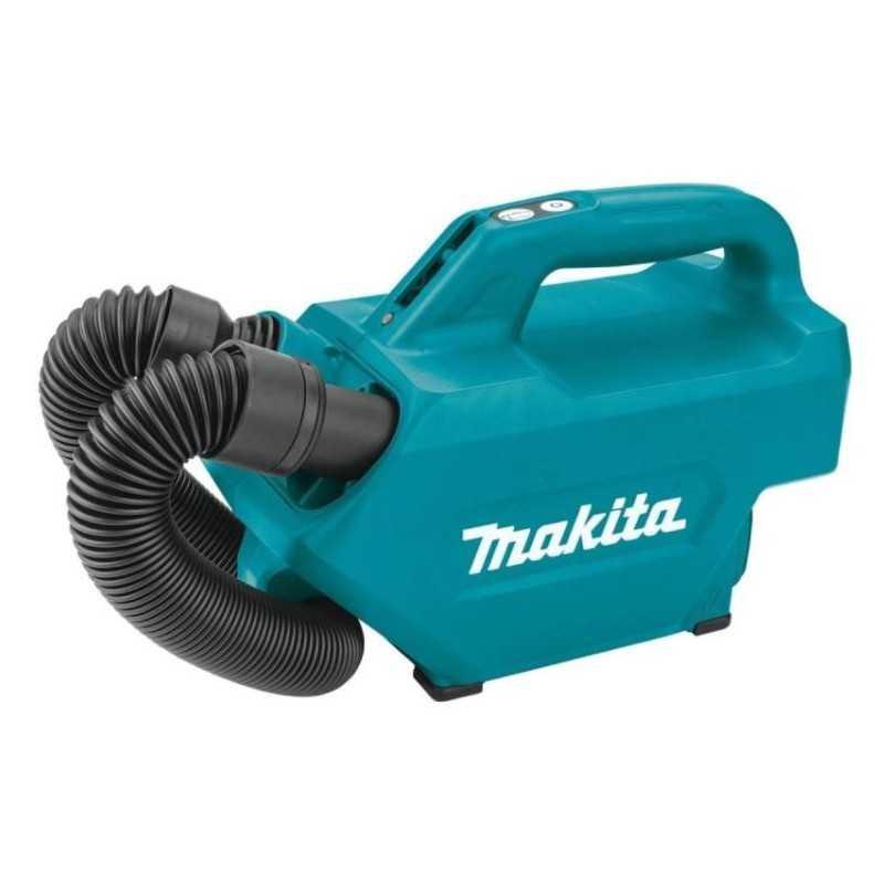 Aspiradora flujo aire 1.3m³/min li-ion s/ bat y carg. c/boquill MAKITA MAKCL121DZ MAKCL121DZ MAKITA HERRAMIENTAS