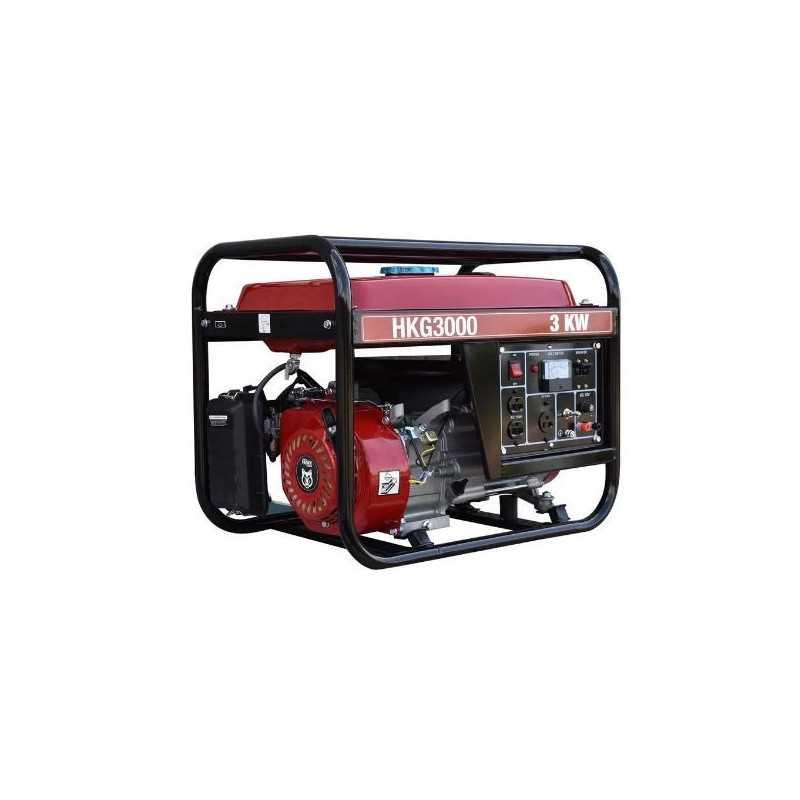 Generador A Gasolina Portátil 230cc 7.5 Hp 4 Tiempos 2800W-3000W HYUNDAI HUSKY-HKG3000W HUSKY-HKG3000W HYUNDAI