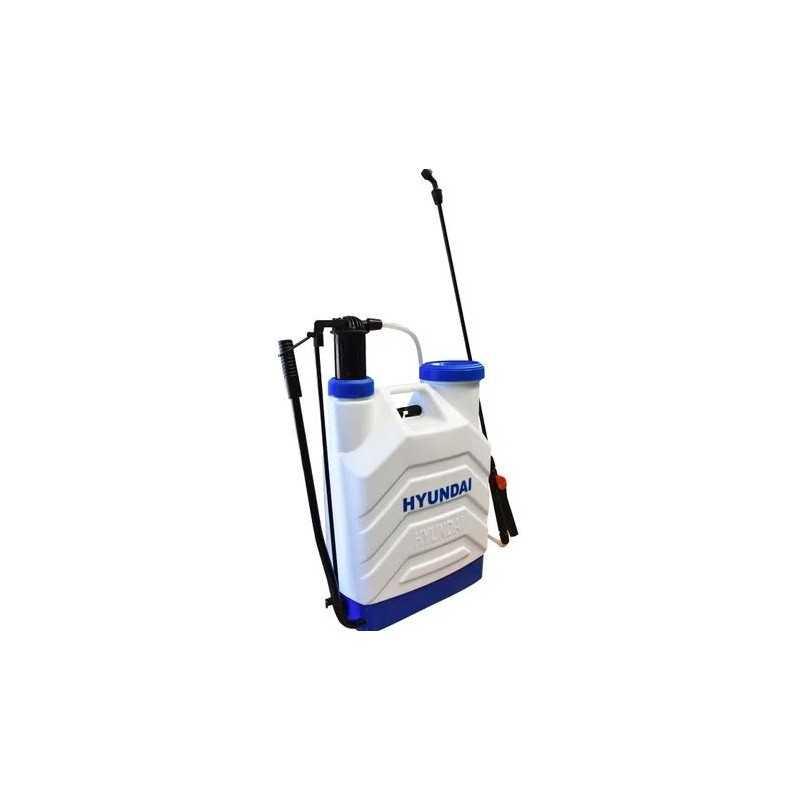 Fumigador Manual Tanque 20 Litros Con Doble Lanza HYUNDAI HYU-HYD2016XB HYU-HYD2016XB HYUNDAI