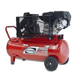 Compresor De Banda A Gasolina 7.5 Hp 108 Litros 125 Psi Evans Ve150G0700Th108 VE150G0700TH108 EVANS